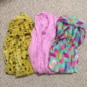 Accessories - Scarf Set- Brights
